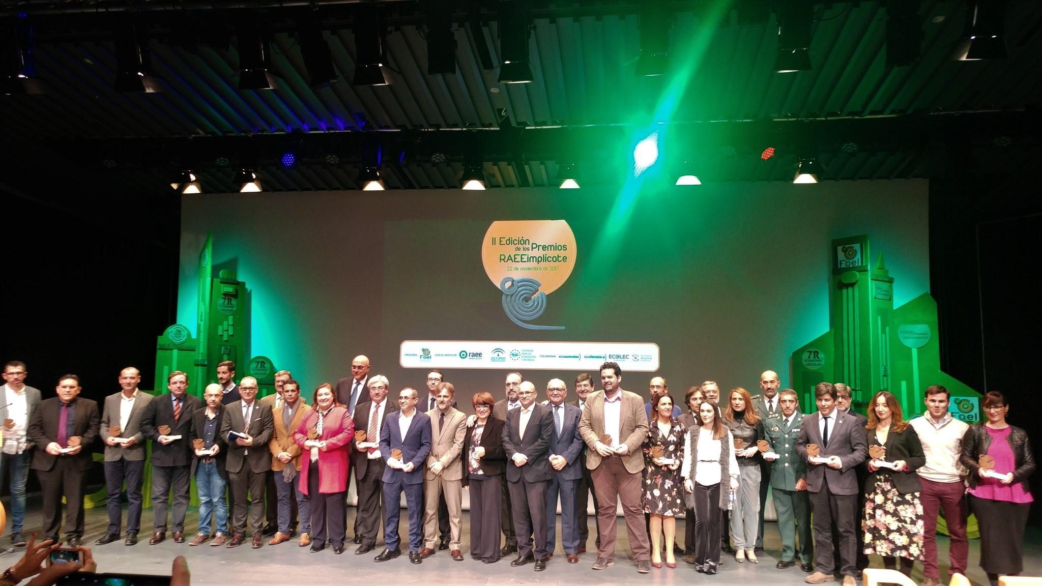 Celebrada la II Edición de los Premios RAEEimplícate