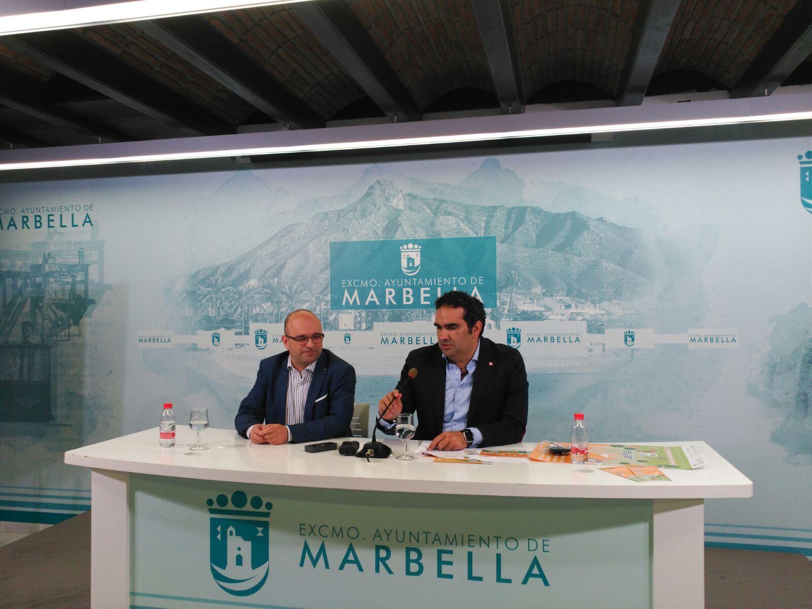 FAEL presenta la campaña ECOsinergias en el ayuntamiento de Marbella