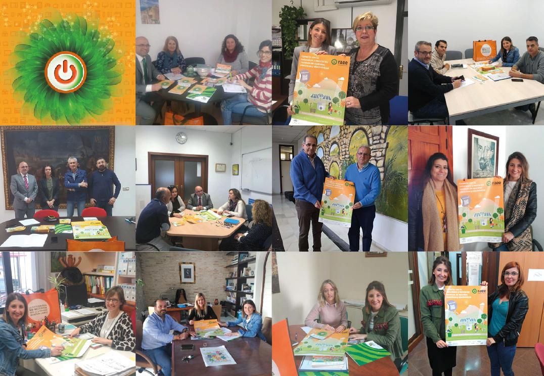 #ECOsinergias II ya suma 13 visitas a entidades locales y 192 visitas a comercios andaluces