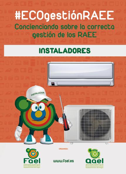 FAEL inicia una campaña de #ECOgestiónRAEE dirigida a instaladores y mueblistas de cocinas