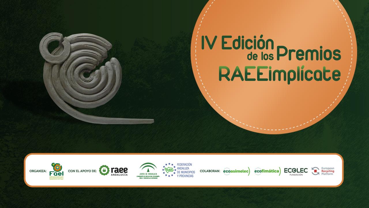 FAEL convoca la IV Edición de los Premios RAEEimplícate y abre el plazo para la presentación de candidaturas