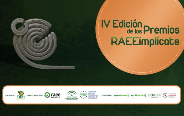 Banner IV Edición Premios RAEEimplicate