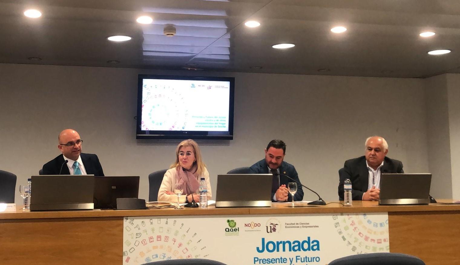 AAEL y el Ayuntamiento de Sevilla celebraron el 19 de noviembre de 2019 la Jornada Presente y Futuro del Sector Electro de Sevilla