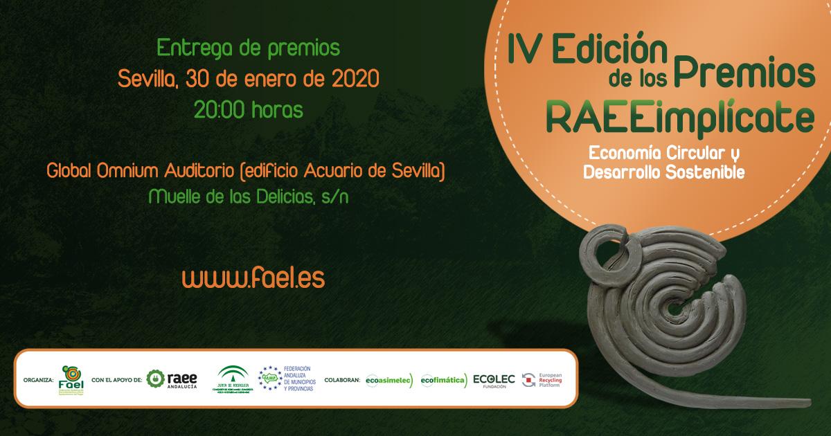 FAEL celebra el acto de entrega de la IV Edición de los Premios RAEEimplícate