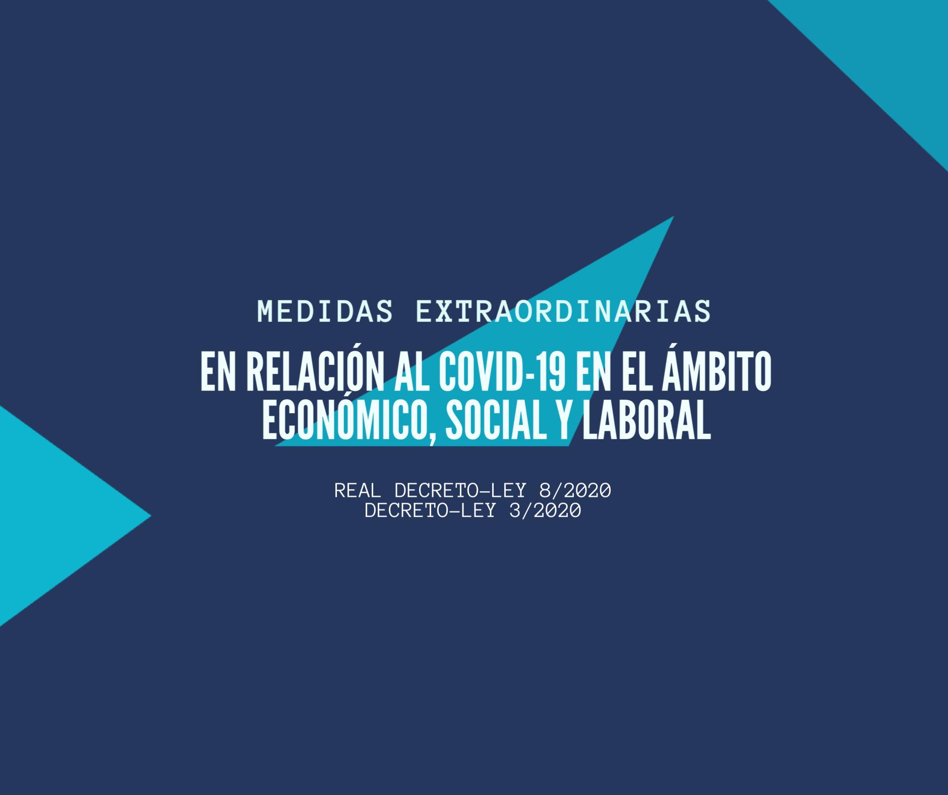 Comunicado FAEL/AAEL ante el COVID-19: Resumen Medidas Económicas, Sociales y Laborales
