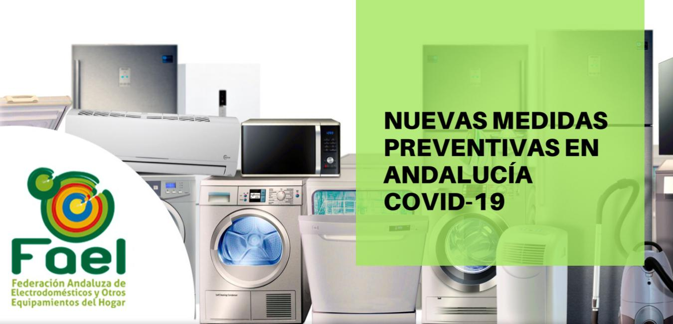 Nuevas medidas preventivas en Andalucía COVID-19