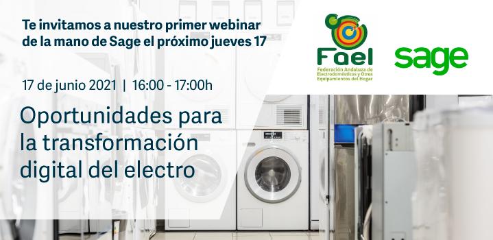 """FAEL organiza una Webinar Online sobre """"Oportunidades de Negocio y Claves para la transformación de la Tienda Electro"""""""